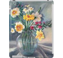 Spring Beauties In A Glass Vessel iPad Case/Skin