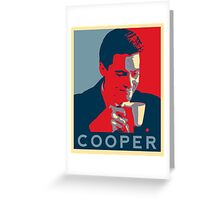 Hope and coffee Greeting Card
