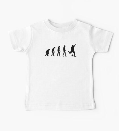 Evolved to play Soccer Baby Tee