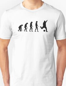 Evolved to play Soccer T-Shirt