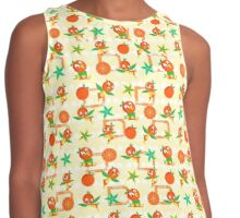 Orange Bird Contrast Tank