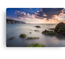 Alum Bay and The Needles Canvas Print