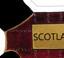 Commonwealth Games Opening Ceremony Scottie Dog 'Scotland' Sticker