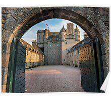 Castle Fraser - Aberdeenshire Poster