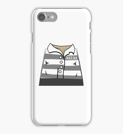 Robber Thief Minifig iPhone Case/Skin