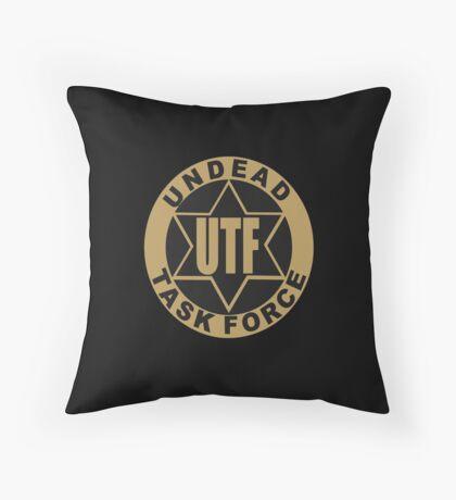UTF – Undead Task Force, Caity Lotz Throw Pillow