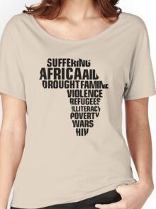 The Africa Situation Women's Relaxed Fit T-Shirt