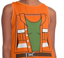 Gale the Construction Girl Contrast Tank
