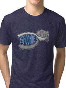 Spoonie Cat Tri-blend T-Shirt