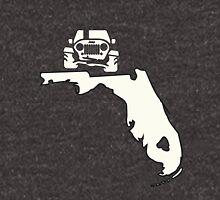 Florida Jeep Outline Unisex T-Shirt