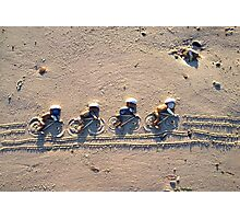 Team Pursuit - Cycling - Rio 2016 Olympics Photographic Print