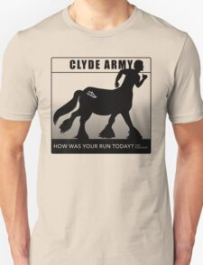 Clyde Army 2016/black Unisex T-Shirt
