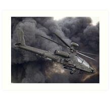 British Army Apache Art Print