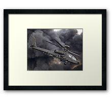 British Army Apache Framed Print