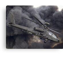 British Army Apache Canvas Print