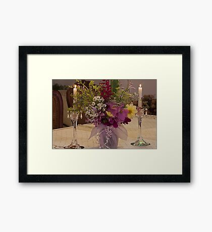 Flowers For Ruby Framed Print