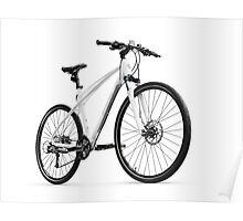 Mercedes-Benz Fitness Bike Road Bicycle art photo print Poster