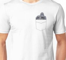 Harambe in a Pocket Unisex T-Shirt