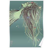 Fantasia Firebird Suite Sticker Poster