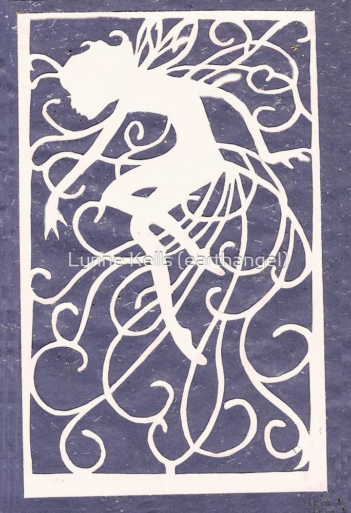 Night Fairy Paper Cut by Lynne Kells (earthangel)