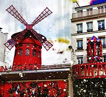 Parisian Mosaic - Piece 22 - French Cabaret by Igor Shrayer