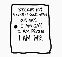 OUT OF THE CLOSET GAY PRIDE T-SHIRT Unisex T-Shirt