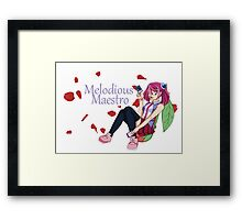 Yuzu Hiragi - Melodious Maestro Framed Print