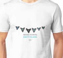 Amity Island Shark Fishing Unisex T-Shirt