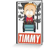 (CARTOON) Timmy Greeting Card