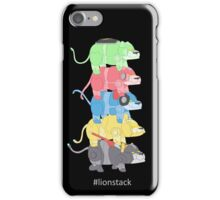 Lion Stack iPhone Case/Skin