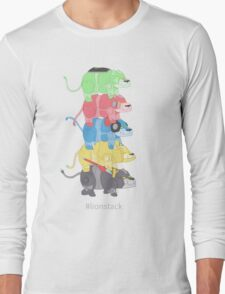 Lion Stack Long Sleeve T-Shirt