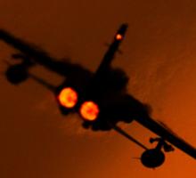 RAF Tornado F3 - raw power Sticker