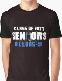 Class Of 2017 Seniors  Doctor Who Graphic T-Shirt