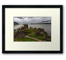 Urquhart Castle on Loch Ness 3 Framed Print