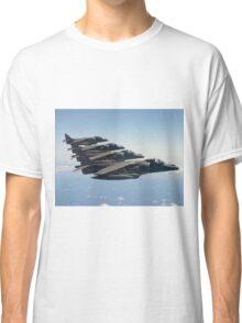 RAF Harrier 4-ship Classic T-Shirt