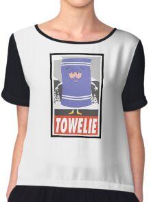 (CARTOON) Towelie Chiffon Top