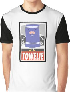 (CARTOON) Towelie Graphic T-Shirt