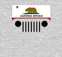 California Flag Jeep Logo Unisex T-Shirt