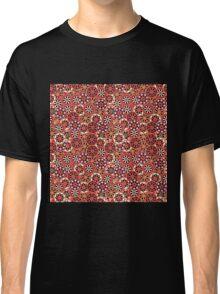 Japanese Flower Pattern Classic T-Shirt