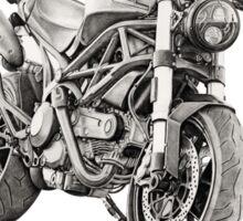 Ducati Monster Sticker