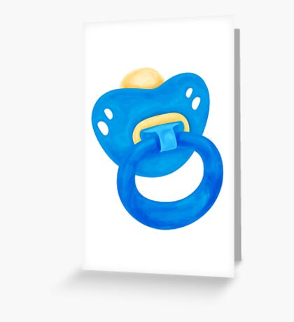 Baby dummy Greeting Card