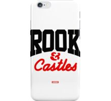 BLACK & RED CROOKS CORE LOGO iPhone Case/Skin