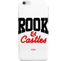 BLACK & RED CROOKS CORE LOGO iPhone Case/Skin