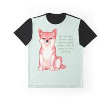 """No One Knows What They're Doing"" Shiba Graphic T-Shirt"