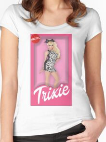 Trixie Mattel Doll Women's Fitted Scoop T-Shirt