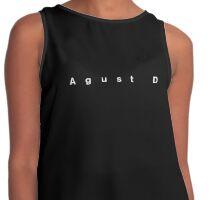 Agust D Title Card Contrast Tank