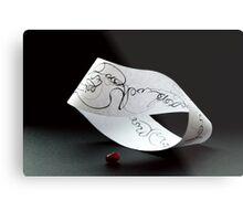 Mobius ribbon, 1st phase of slow motion Metal Print