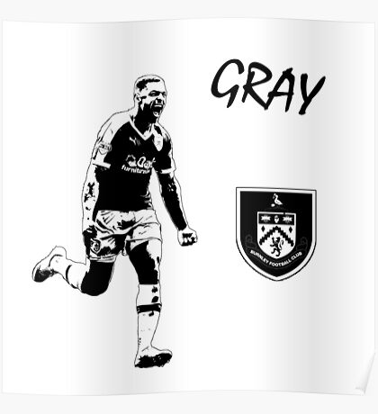 Andre Gray - Burnley Poster