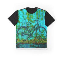 The Blue Bike Graphic T-Shirt