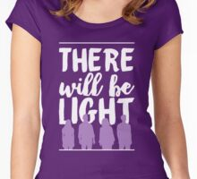 """""""There Will Be Light"""" - Next to Normal Women's Fitted Scoop T-Shirt"""